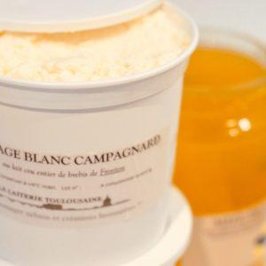 Fromage blanc campagnard de Bufflonne