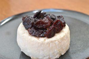 Crottin raisins