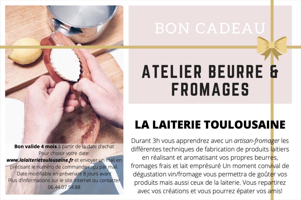 bon cadeau atelier artisan fromager lait cru