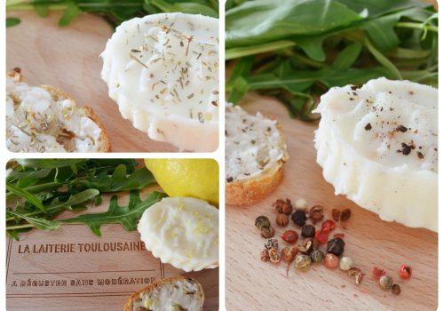 Beurre de brebis aromatisé